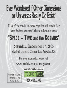 Space-time and the Cosmos2